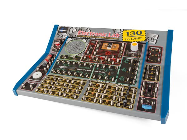 VELLEMAN EL1301 KIT MET ELEKTRONICAPROJECTEN - 130-in-1