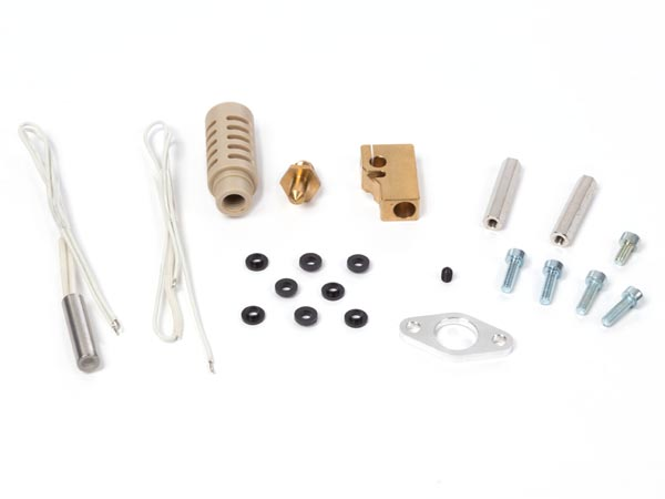 VELLEMAN KITS HOT8400/SP HOTEND ASSEMBLY SPAREPART SET (FOR K8400 VERTEX 3D PRINTER)