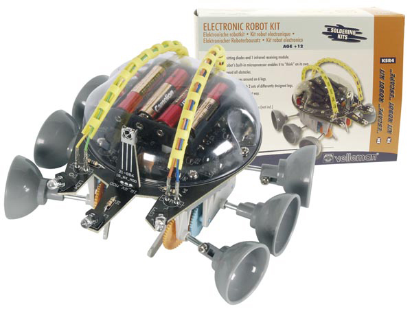 "VELLEMAN KSR4 ""ESCAPE"" ROBOT KIT"