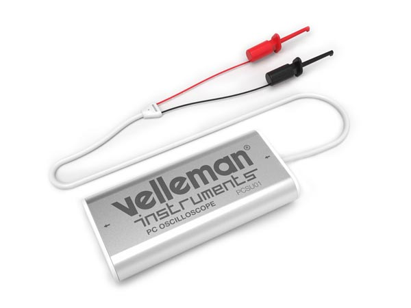 VELLEMAN INSTRUMENTS PCSU01 MINI PC OSCILLOSCOOP