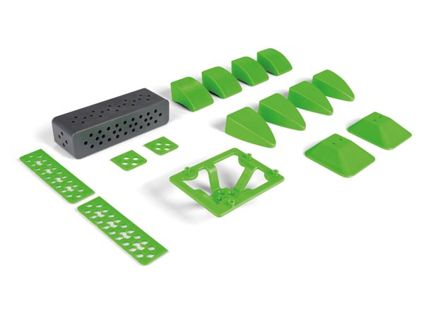 VELLEMAN KITS VR008 ALLBOT®-OPTION: SET PLASTIC ONDERDELEN B
