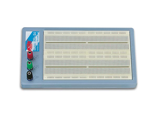 VELLEMAN SD24N HIGH-QUALITY SOLDEERLOZE BREADBOARDS - 1680 GATEN