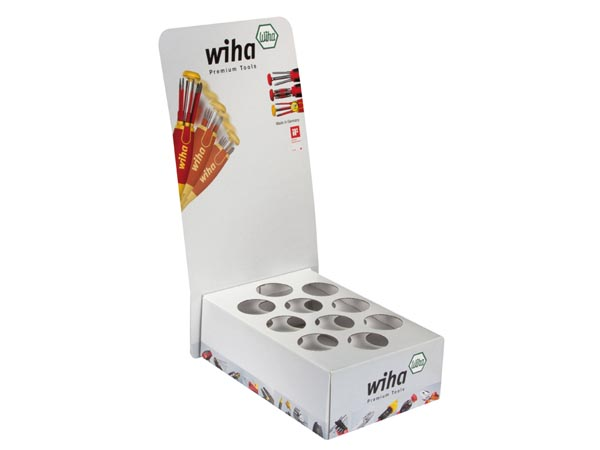 WIHA WH39605 Magazin Bit holder LiftUP Cardboard Display - Wiha - for 10pcs magazin bit holder set