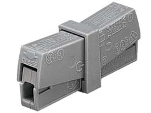 WAGO WG224201 LIGHTING SERVICE CONNECTOR, GREY