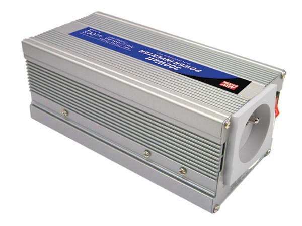 MEAN WELL A301-300-TE MEAN WELL - DC-AC INVERTER MET GEMODIFICEERDE SINUSGOLF -300 W - PENAARDE