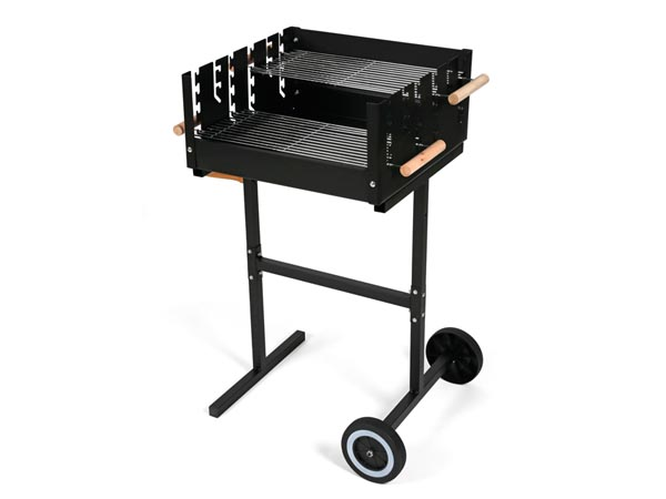 PEREL BB100112 BARBECUE - VIERKANT