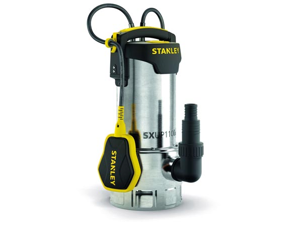 STANLEY STN-P1100SS STANLEY - DOMPELPOMP - ROESTVRIJ STAAL - VUILWATER - 1100 W