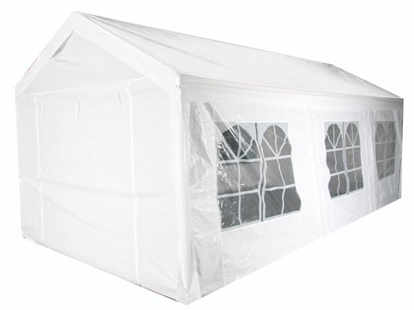 PEREL 961-36 FEESTTENT - 3 x 6 m - WIT