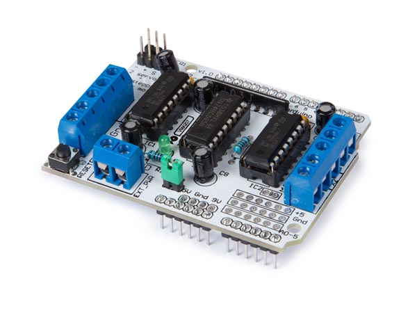 VELLEMAN IO FOR ARDUINO VMA207 L293D MOTOR DRIVER SHIELD VOOR ARDUINO®