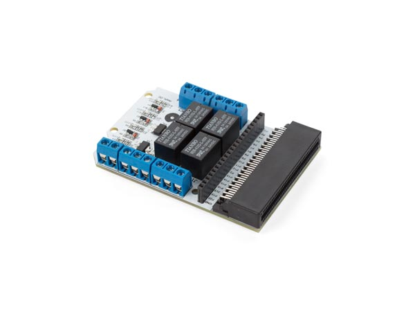 VELLEMAN FOR MAKERS VMM400 4-KANAALS RELAISMODULE VOOR MICROBIT®
