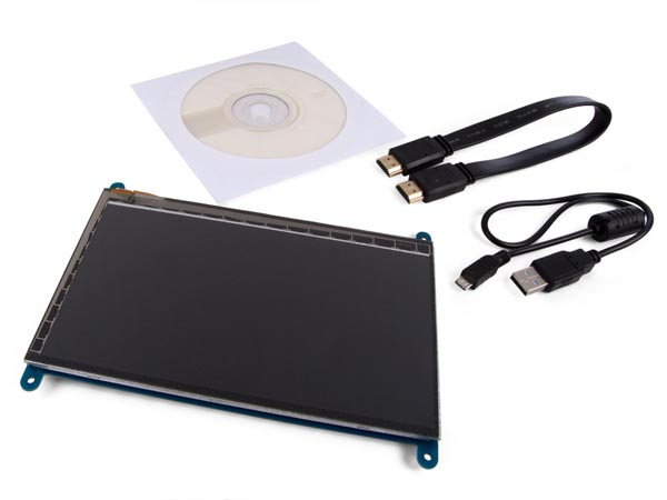 "VELLEMAN IO FOR RASPBERRY VMP402 HDMI-B TOUCHSCREEN VOOR RASPBERRY PI® - 7"" - 800 x 480"