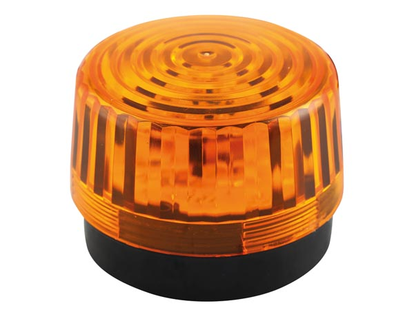 VELLEMAN HAA100AN LED-KNIPPERLICHT - AMBER - 12 VDC -  ø 100 mm
