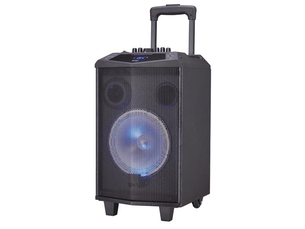 DENVER ELECTRONICS DV-10715 TSP-304 - BLUETOOTH LUIDSPREKER MET TROLLEY  - 25 W