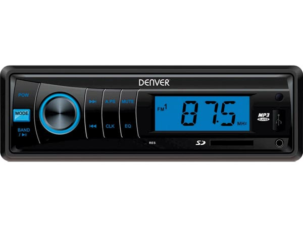 DENVER ELECTRONICS DV-30150 CAU-440 - FM-AUTORADIO MET MP3
