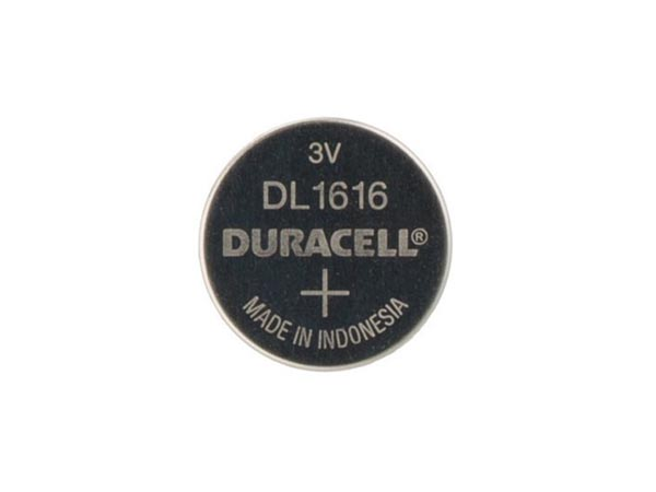 DURACELL BDCR1616-BL1 DURACELL - LITHIUM KNOOPCEL MNS 3 V - DL616