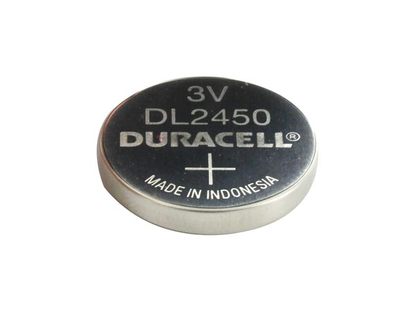 DURACELL BDCR2450-BL1 DURACELL - LITHIUM KNOOPCEL 3 V - DL2450