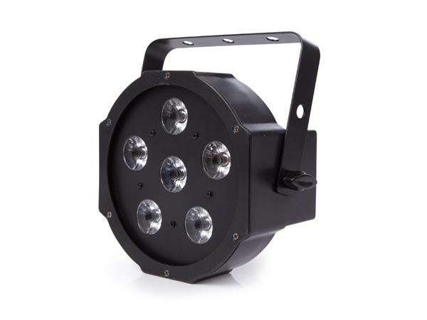 HQ-POWER HQLP10004 PLATTE PAR - 6 x 3 W RGB LED