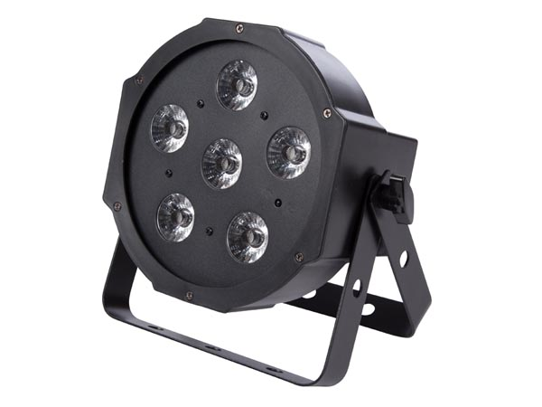 HQ-POWER HQLP10006 PAR - 6 x 3 W UV-LED - COMPACT