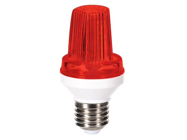 HQ-POWER HQPL11028 MINI LEDFLITSLAMP - E27 - 3 W - ROOD