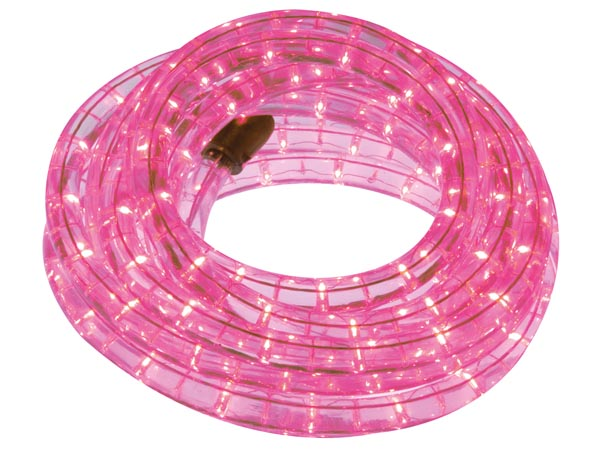 HQ-POWER HQRL09007 LED-LICHTSLANG - 9 m - ROZE