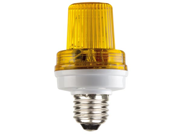 HQ-POWER VDLSLY MINI FLITSLAMP - E27 - 5 W - GEEL
