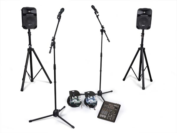 HQ-POWER VDSPROM12 PA-SET AUDIO PERFORMER