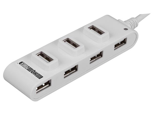 HQ-POWER HQM121C HIGH-SPEED USB 2.0 HUB - 7 POORTEN