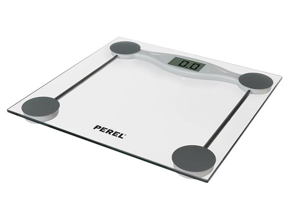 PEREL VTBAL201 DIGITALE PERSONENWEEGSCHAAL - 180 kg / 100 g