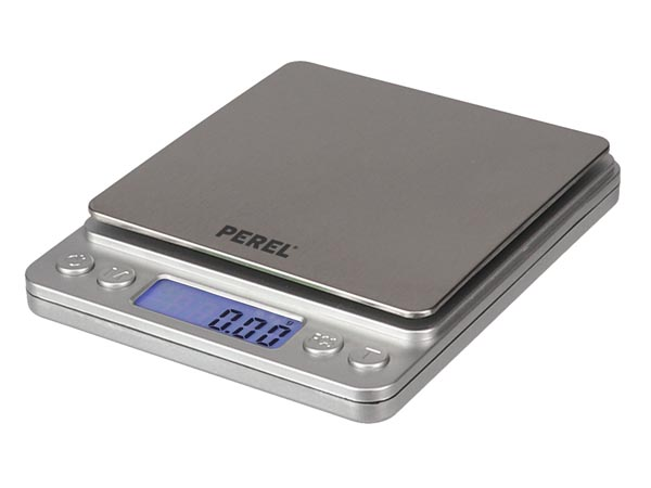 PEREL VTBAL402 DIGITALE MINI PRECISIEWEEGSCHAAL - 500 g / 0.01 g