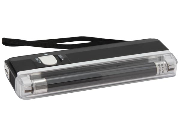 VELLEMAN ZLUVB MINI UV LAMP + SPOT / ZWART