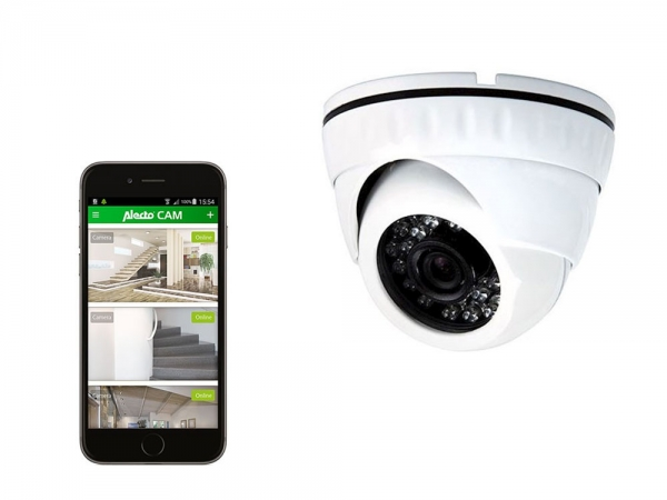 Alecto DVC-135IP draadloze IP WiFi buiten dome camera