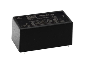 MEAN WELL IRM-20-24 MEAN WELL - VOEDING - 1 UITGANG - 20 W - INGEKAPSELD - 24 V