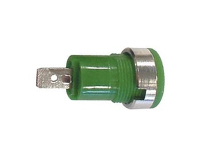 VELLEMAN CM17G IEC1010 BINDING POST, FASTON - GREEN