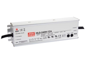 MEAN WELL HLG-240H-12A SCHAKELENDE VOEDING  - 1 UITGANG - 240W - 12 V