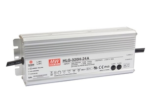 MEAN WELL HLG-320H-24A SCHAKELENDE VOEDING - 1 UITGANG - 320 W - 24 V
